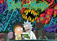 Rickandmorty soundtrack cover cd1 3000x3000