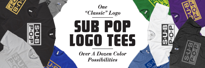 Sub Pop Logo Shirts Sub Pop Mega Mart
