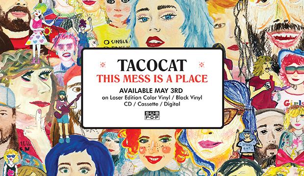 Tacocat site banner