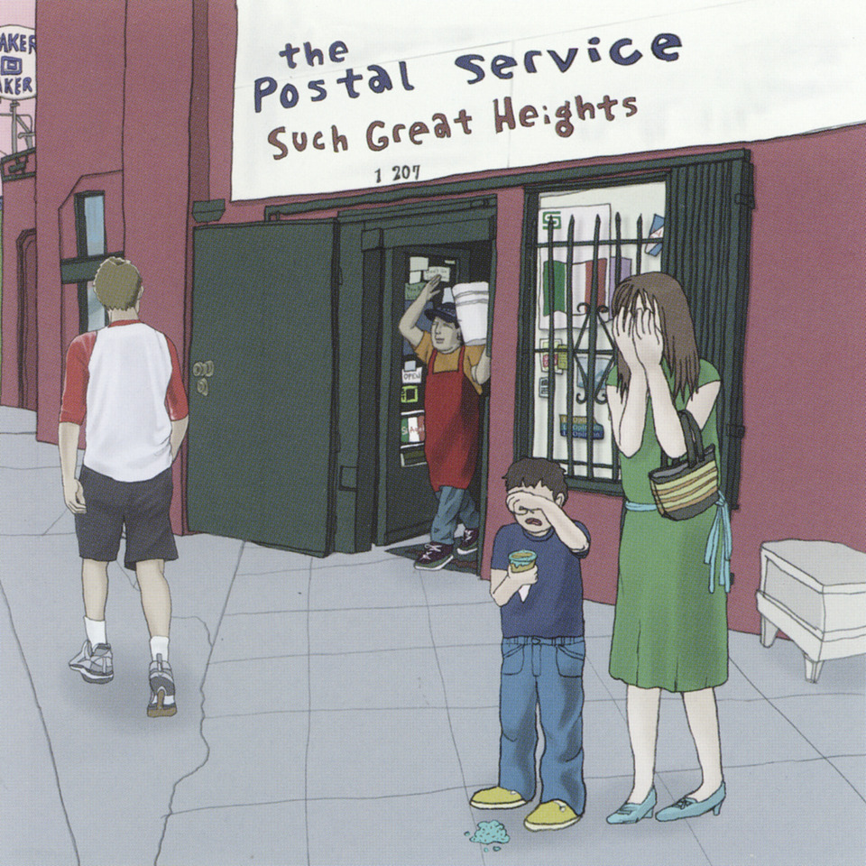The Postal Service Such Great Heights Sub Pop Mega Mart