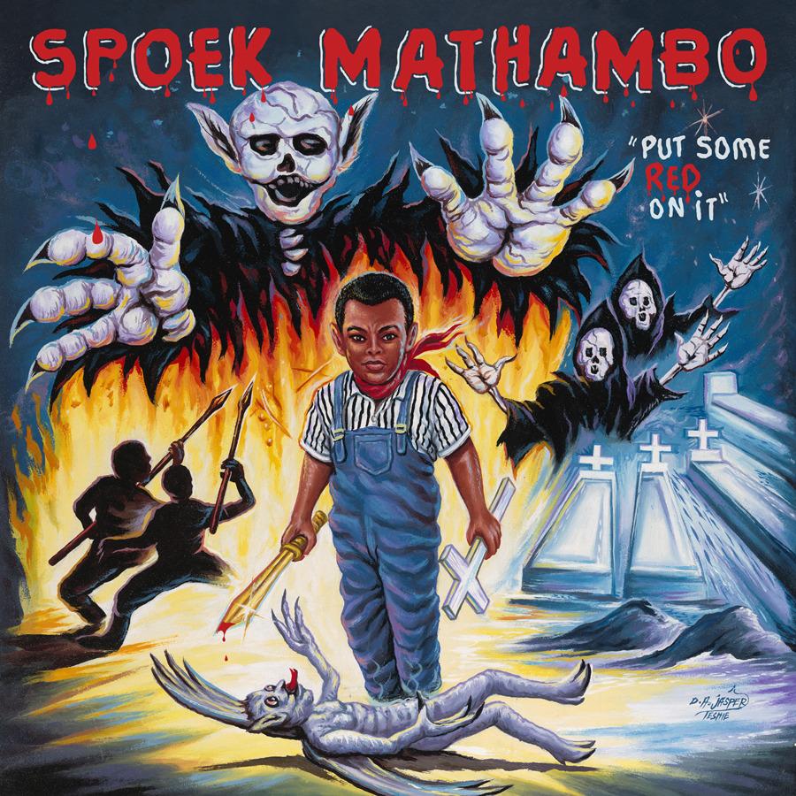 Spoek Mathambo Put Some Red On It Sub Pop Mega Mart