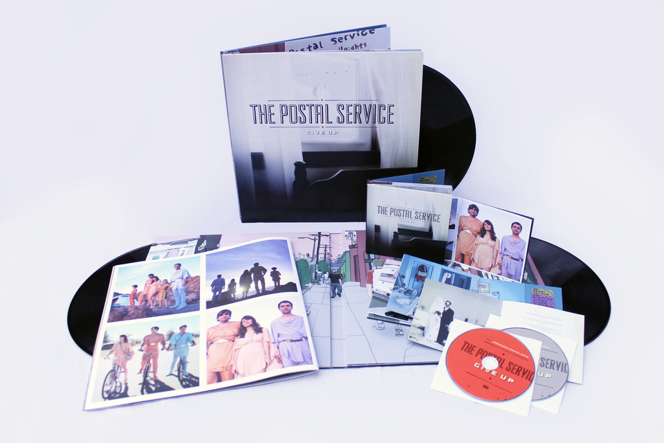 The Postal Service Give Up Deluxe Edition Sub Pop