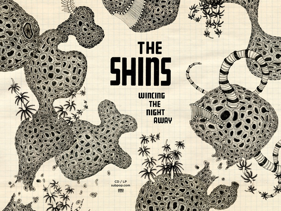 The Shins Shins Wincing The Night Away 2 Sided Poster