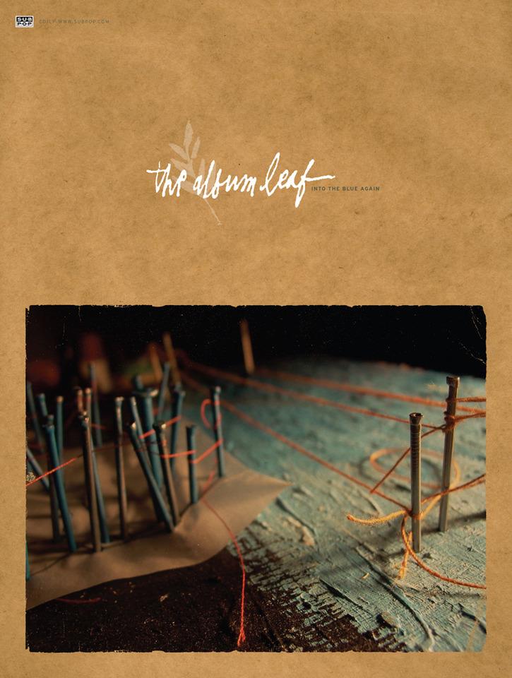 The Album Leaf The Album Leaf Into The Blue Poster Sub