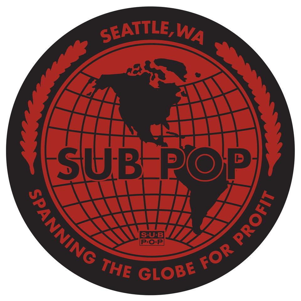 Sub Pop Sub Pop Globe Slipmat Sub Pop Mega Mart