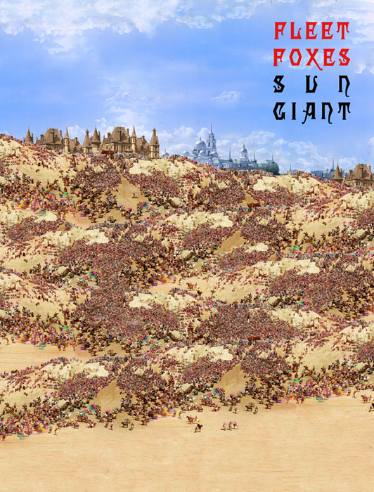 Sun Giant Vinyl Fleet Foxes
