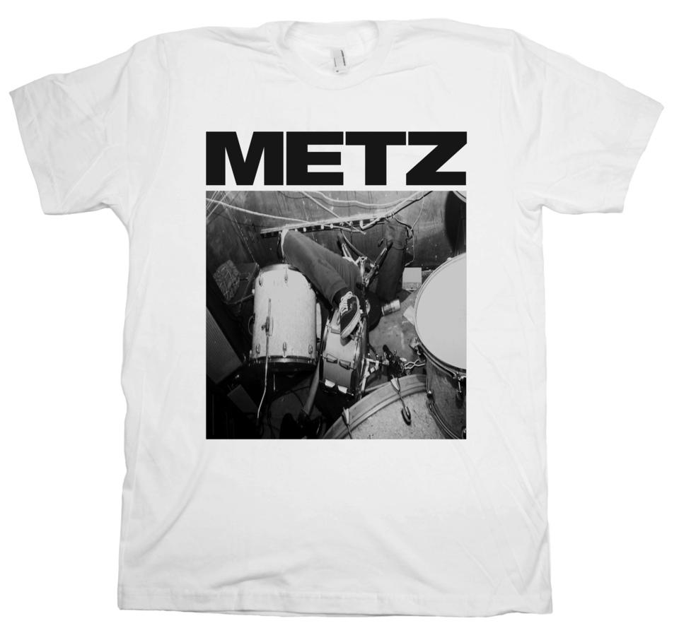 Metz Drums Collapse White Sub Pop Mega Mart
