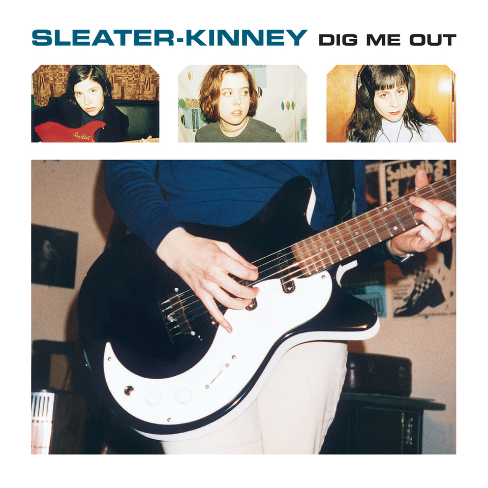 Image result for sleater kinney dig me out