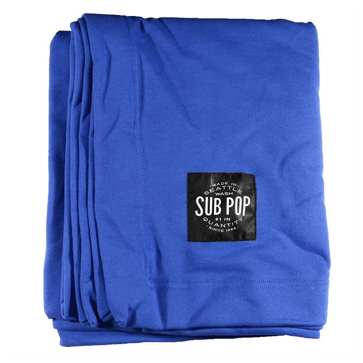 Sub Pop Stadium Sweatshirt Blanket Blue Sub Pop Mega Mart