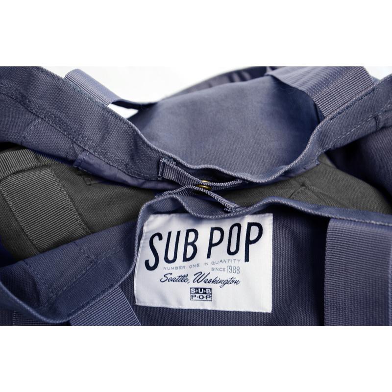 Sub Pop Tote Boat Blue Denim Sub Pop Mega Mart