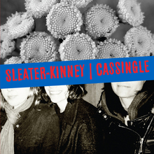 Sleaterkinney cassingle cover