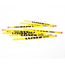 Pencil loser yellow 02
