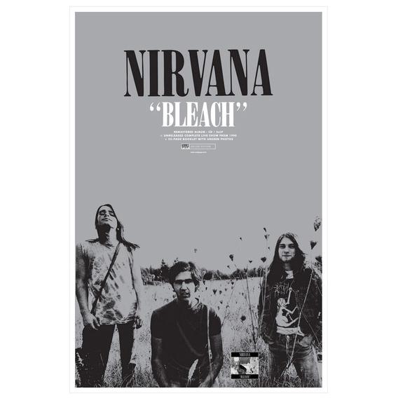 Nirvana Bleach Poster 2 Sided