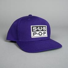 Hat logo purple 01