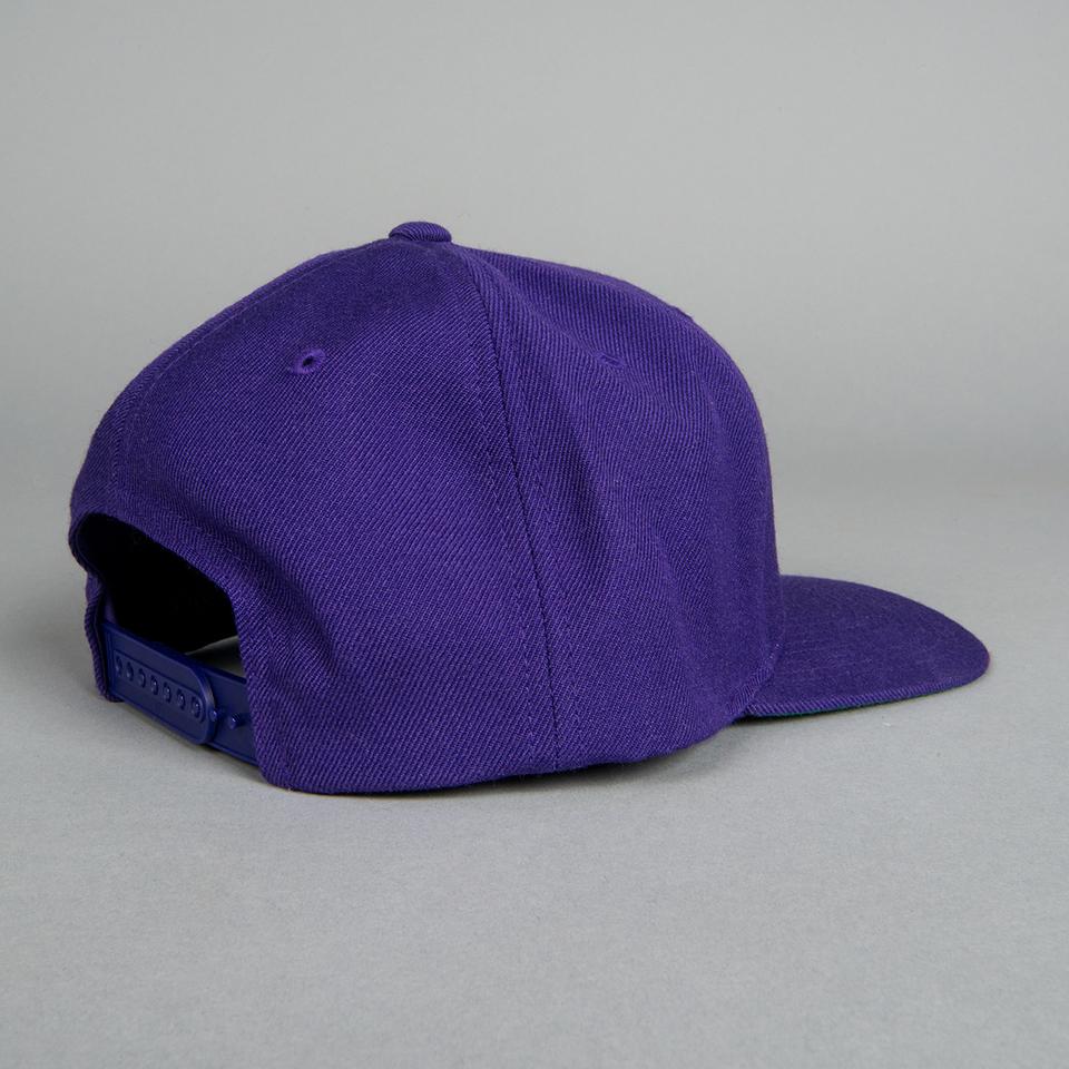 Sub Pop Purple Logo Snapback Hat Sub Pop Mega Mart
