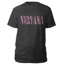 Nirvana floral tshirt