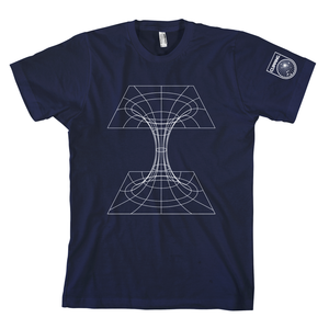 Clipping blackhole navy tshirt