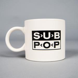 Mug subpop logo white 01