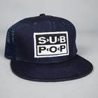 Hat subpop logo blue 01