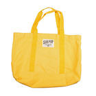 Bag boattote yellow flat