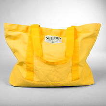 Bag boattote yellow front