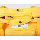 Bag boattote yellow detail