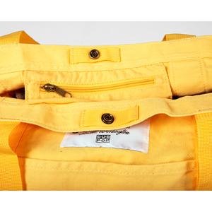 Bag boattote yellow detail