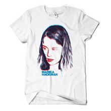 Marikahackman notyourman white tshirt
