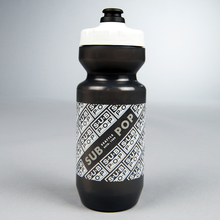 Logobikewaterbottle black