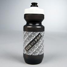 Logobikewaterbottle black