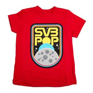 Youth nasa red tshirt