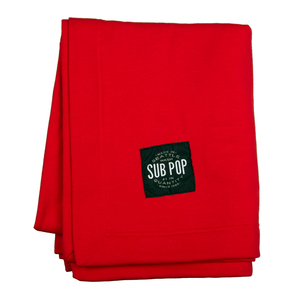 Stadium blanket red