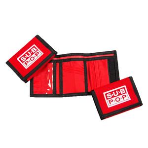Subpop wallet red 03