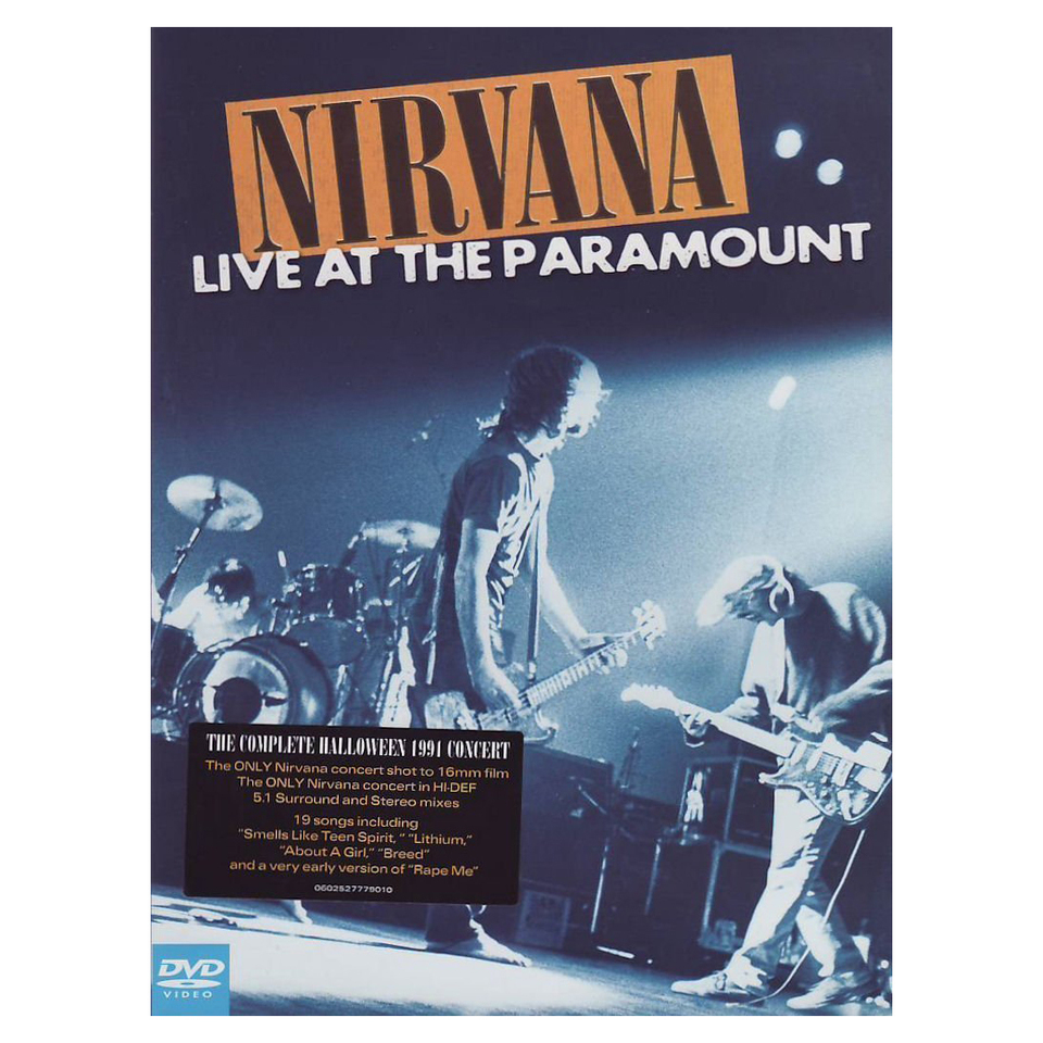 Nirvana Nirvana Live At The Paramount Sub Pop Mega Mart