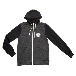 Subpop hoodie globe black darkgray