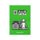 Girl sub pop stacked pin