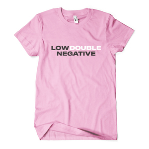 Low doublenegative pink shirt