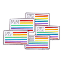 Subpop patch logo rainbow group