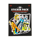 Subpop stickerpack red 01
