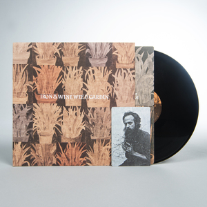 Ironandwine weedgarden lp black