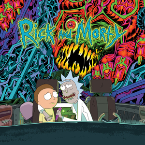 Rickandmorty soundtrack cover digital 2400x2400