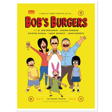 Bobsburger comedyshow poster