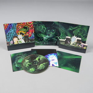 Rickandmorty ramsoundtrack cd square