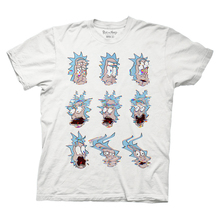 Rickandmorty rightglitchwhite shirt