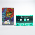 Rickandmorty therickandmortysoundtrack cassette 1500x1500