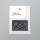 Subpop patch logo blackandgray 1500x1500