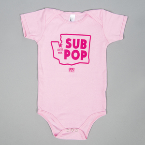 Subpop onesie washingtonstatelogo pink 01 1500x1500