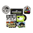 Subpop stickerpack green 01