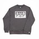 Subpop sweatshirt logo fuzzy 01