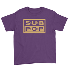 Youthlogo t purple